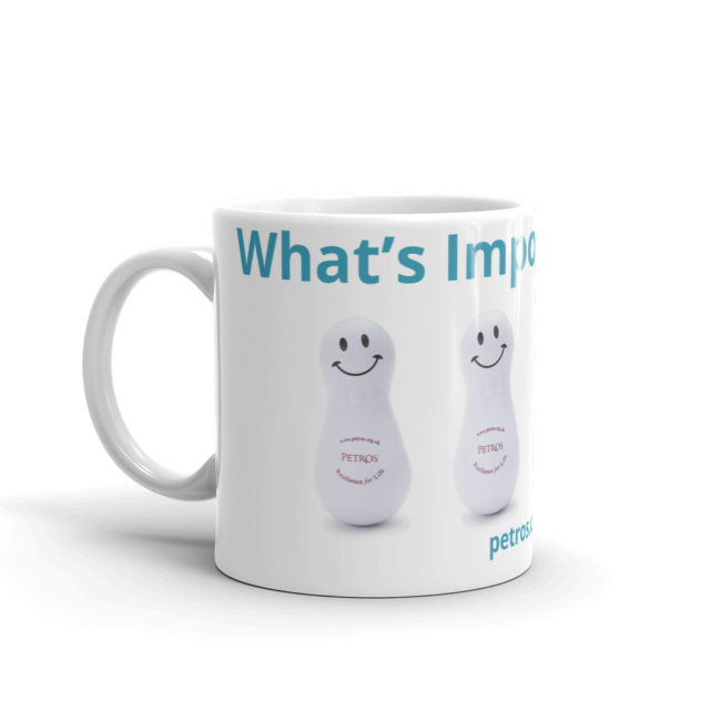 What's Important Now? Petros Mug