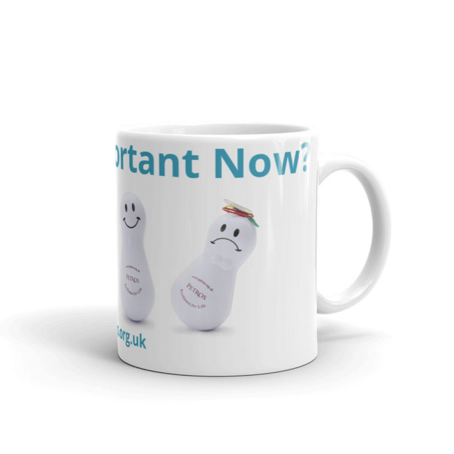 Petros mugs for order - resilience support for good mental health