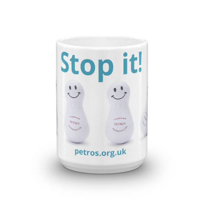 Stop it! Petros Mug