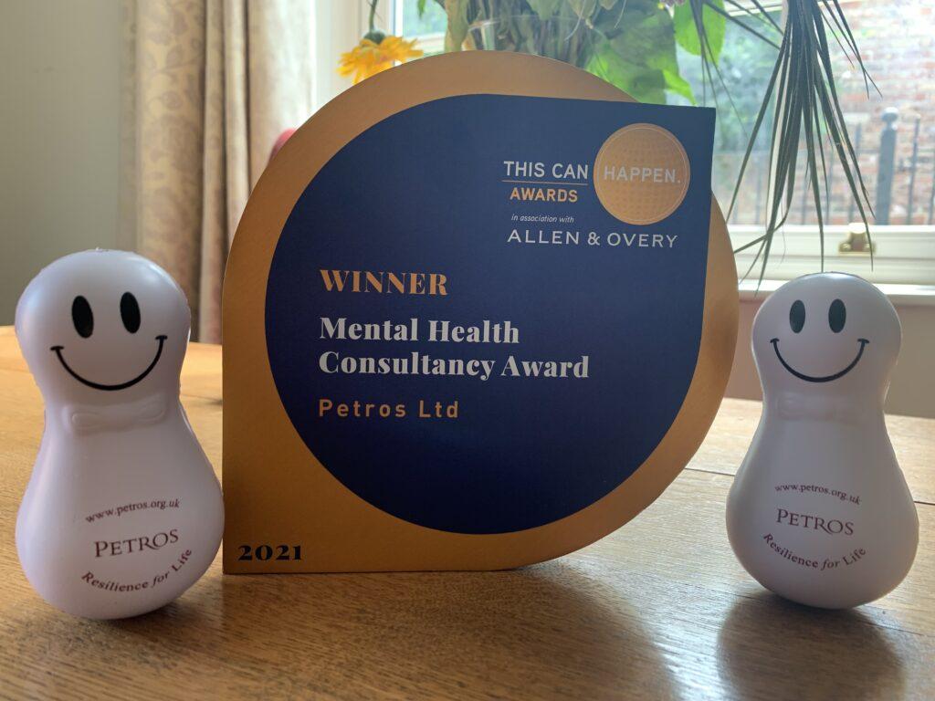 This Can Happen Award Best Consultancy 2021 - Petros - Prof. Jo Clarke